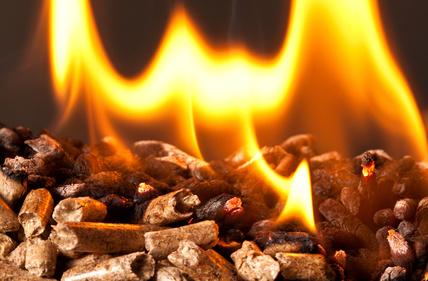 Pellets en feu