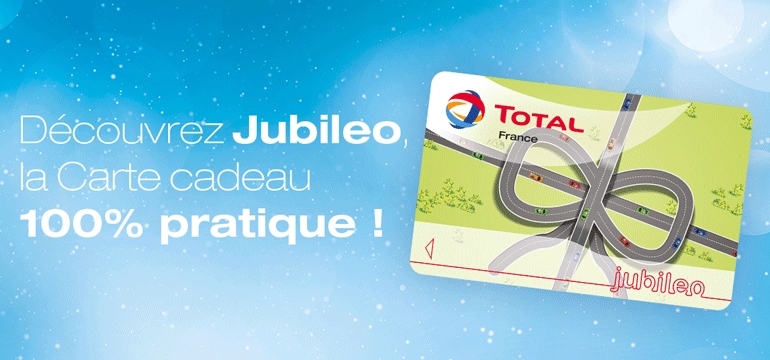 carte carburant total pour particulier La Carte TOTAL Jubileo